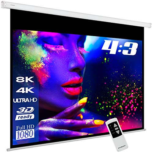mächtig der welt ESMART Professional MIMOTO Elektrische Klinge [Größenauswahl] 203 x 152 cm (100 Zoll) 4: 3 |…