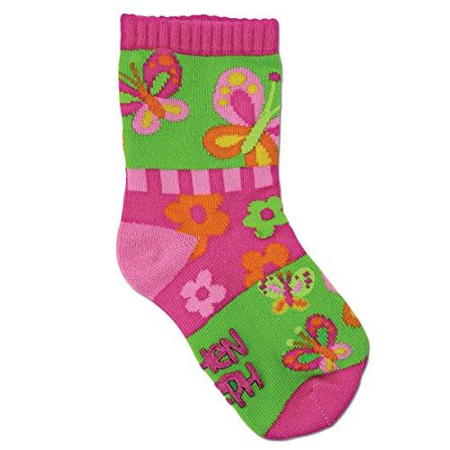 Stephen Joseph sj1010 25as enfants chaussettes – Taille S, papillon