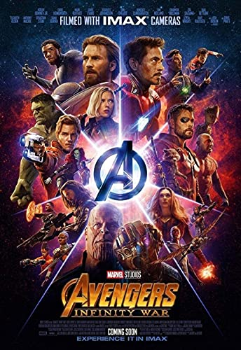 Puzzle 1000 Pieces - Avenger Film Posters: Infinity War -Puzzle 3D Personalized Paper Mount Puzzle Funny Creative Classic Jigsaw(38 * 26cm)