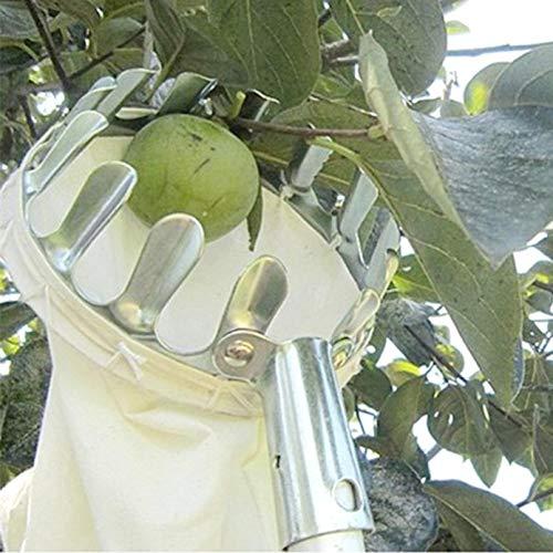 14cm de diámetro 20cm de profundidad Herramientas de recolección de frutas Recogedor de frutas Recogedor de frutas Cesta de la cosecha para la recolección de la cosecha Manzana Cítrica Pera Melocotón