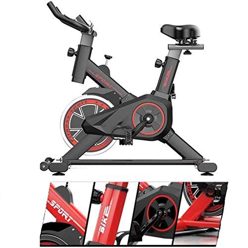 GAXQFEI Bicicleta Estacionaria de Ciclismo Interior, Bicicleta de Ejercicios, Bicicleta de Ejercicio con Manillar Y Asiento Cómodo con Monitor Lcd para el Gimnasio de Casa