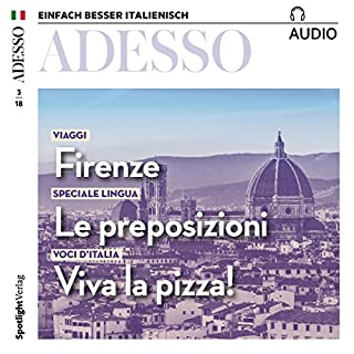 ADESSO Audio - Firenze. 3/2018 Titelbild