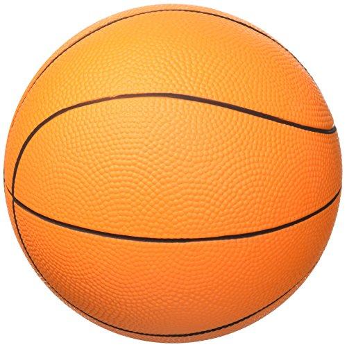 Softee 10900 Schaumstoffball förmigen Ballon Basketball, orange, S