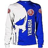 MANIU Hoodies,Chaquetas,Camiseta Yam-Aha 3D Completo Impresión Delgado Hombre Y Mujer Casual Poliéster Sweatshirt Suelto/C/XS