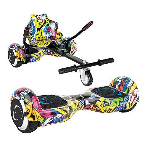 SMARTGYRO X2 + Go Kart Pack Street Skateboard Elettrico X2 UL (Hoverboard...