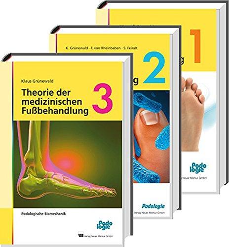 Theorie der medizinischen Fußbehandlung, Band 1-3, Set