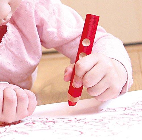 リラLYRA文具色鉛筆三角グリップクレヨン水彩色鉛筆美しい発色グルーヴトリプルワン12色セット
