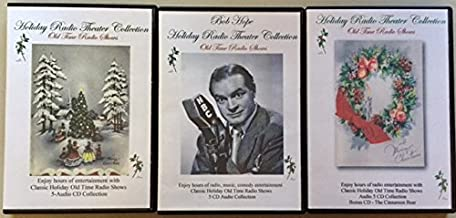 Giant Christmas Holiday Collection! Classic Radio Theater 3 Case Collection-15 Audio CD's
