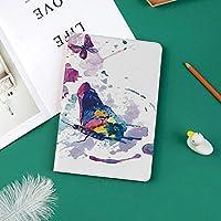 カスタム iPad Pro 11 2018 ケース (2018新モデル) マグネットス吸着式 オートスリープ機能魂の力の蝶の印の水彩画プリント女性アート現代の家の装飾