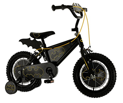 Batman 14 Inch Kids Bat Bike MV Sports Ages 4 Years+