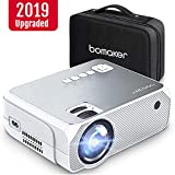Mini Projector, BOMAKER GC555 Portable Projector with Carry Bag, 3,600 Lux LCD Video