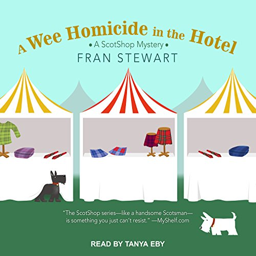 A Wee Homicide in the Hotel audiobook cover art