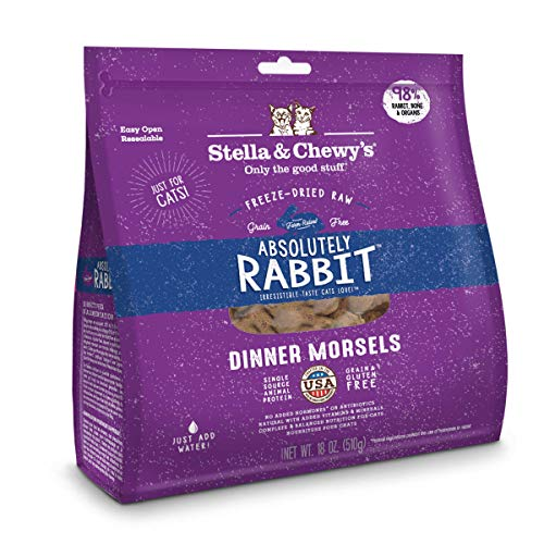 Stella and Chewy Raw Rabbit Dinner Morsels