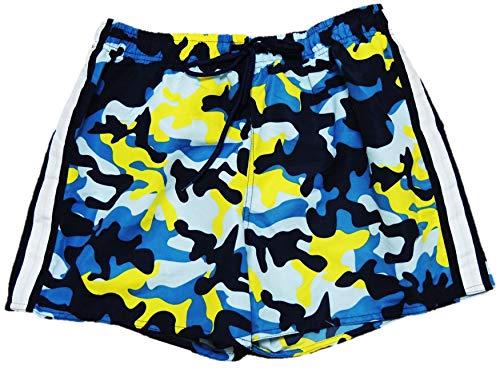 Leuke jongens camouflage zwembroek in de maten 158-188
