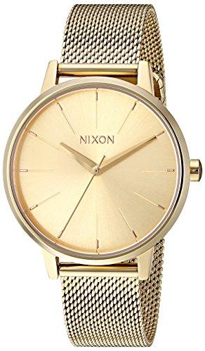NIXON Reloj analógico para Mujeres de Cuarzo japonés con Correa en Acero Inoxidable A1229502