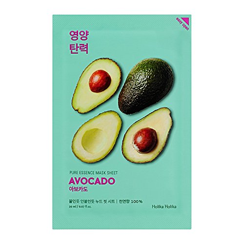 Holika Holika Pure Essence Mask Sheet Gesichtsmaske Avocado 1pc