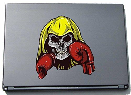 Laptopaufkleber Laptopskin Sport 118 - Totenkopf - Skull mit Boxhandschuh - 210 x 197 mm Aufkleber
