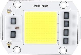 Chip de perla de lámpara LED de alta potencia (6 x 4 cm) 100W 220V Chip de LED de alta potencia blanco frío Granos de lámpara de bombilla súper brillante para iluminación arquitectónica, sitio de exhi
