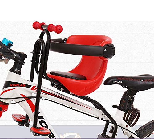 Eton Front Mounted Baby Bike Seat, Universal Kids Bike Seat for Children, Front Mount Bike Child Seats Safety Seat for Bikes Kids Safety Carrier Front Seat (A-Suitable for Bicycles with Front Beams)