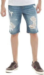 Bermuda Jeans Eventual Middle Azul