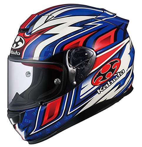 オージーケーカブト(OGK KABUTO) バイクヘルメット フルフェイス RT-33 DAISAKU2(ダイサク2) ブルー (サイズ:M) 578909