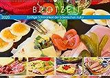 Brotzeit. Zünftige Schmankerl der bayerischen Kultur (Wandkalender 2020 DIN A2 quer)