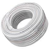 Tubo de PVC Transparente de 5/8', 16 mm ID x 20 mm OD...