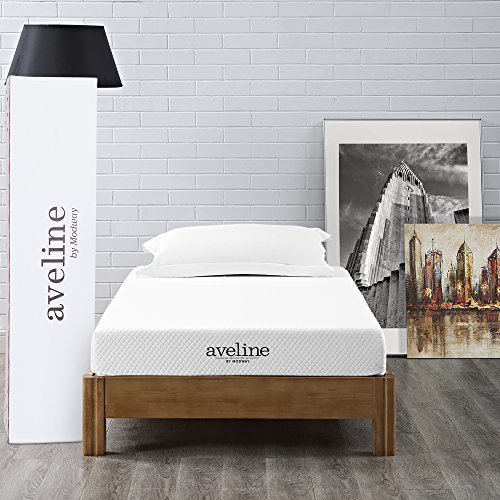 "Modway Aveline 6"" Gel Infused Memory Foam Twin Mattress With CertiPUR-US Certified Foam"
