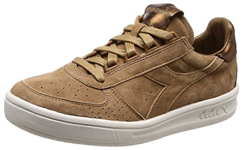 Diadora Heritage, Damen, B.Elite W Metallic Brown, Suede, Sneakers, Braun, 38.5 EU