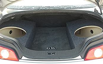 Custom Sub Enclosure Subwoofer Box for a 2003+ G35 Coupe - 2 12