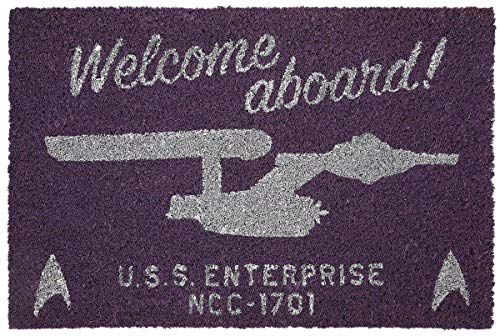 Pyramid International Official Star Trek (Welcome Aboard!) Doormats
