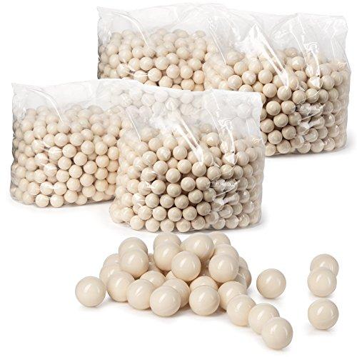 Veska .68 Caliber White High Grade Paintballs (500)