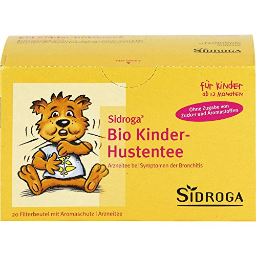 Sidroga Bio Kinder Hustentee, 20 St. Filterbeutel