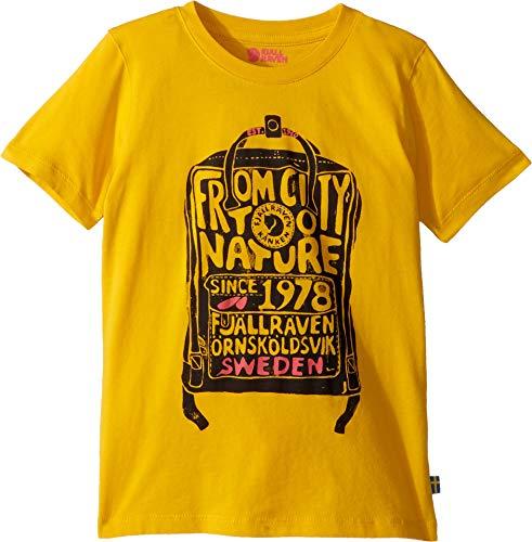 FJALLRAVEN Kånken Kids T-Shirt Unisexe pour Enfant 12 Ans Pissenlit