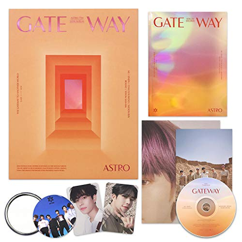 ASTRO 7th Mini Album - Gateway [ TIME TRAVELER ver. ] CD + Photobook + Postcard + Photocards + Folding Poster + OFFICIAL POSTER + FREE GIFT / K-pop Sealed