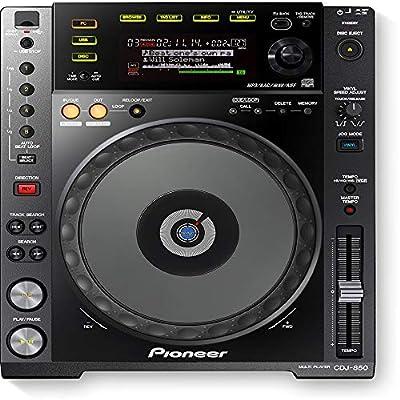 Pioneer cdj850 K, black CD DJ MP3, full control