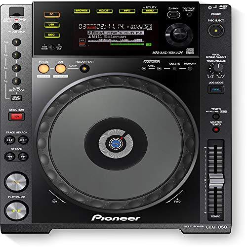 Pioneer CDJ850K, lettore CD DJ MP3, a pieno controllo