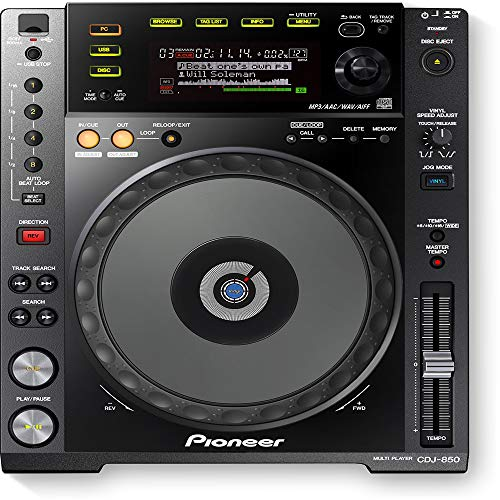 Pioneer CDJ850K - Cdj-850k negro cd dj mp3 control total
