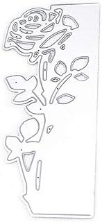 AIUIN Matrices de Découpe, Scrapbooking Matrice Découpe, Gabarit de Découpe Pochoir Noël Forme de Rose pour Scrapbooking A...