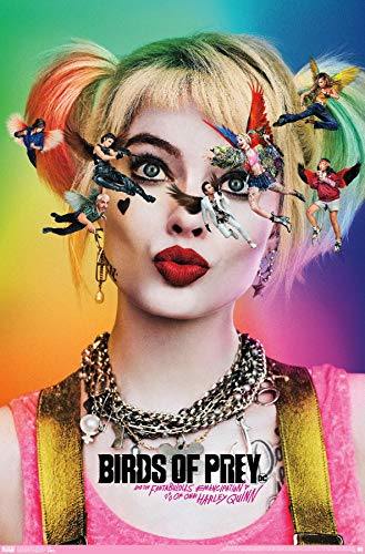51xHMpYcBXL Harley Quinn Birds of Prey Posters