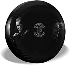 Yuedevil Sons of Anarchy Spare Tire Cover Fits SUV Jeep Or Camper RV Accessories All Cars