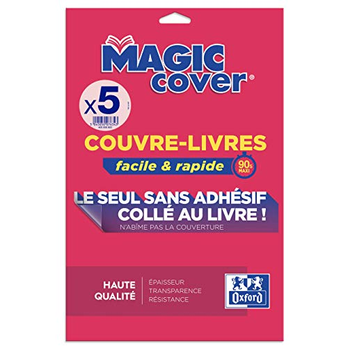 "Elba 400008903 Buchschoner""Magic Cover"", Inhalt: 5 Blatt"