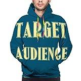 Hoodie Sweatshirt 3D Printing Mens' Pullover Hoodies Target Audience Business Concept Design Target Audience Business Concept Design