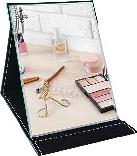Amazon Brand – Umi - Miroir de Maquillage Miroir Pliable Portable avec Support,Coiffeuse,Bureau,Voyage- À Poser sur Un Meu...
