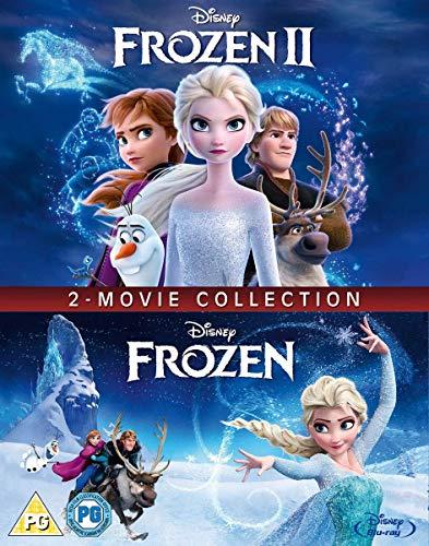 Frozen 1 & 2 DVD 2020 New Elsa & Anna