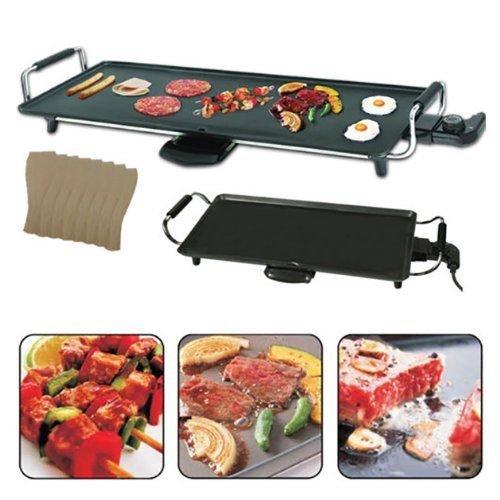 Trendi® 2000 Watt Teppanyaki Grill | Electric BBQ Table Top Grill...