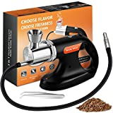 JoChef Professional Handheld Smoke Gun – Cold Smoker + Vacuum Function – USB Smoking Gun Food Smoker – Wood Chips Included - Ideal Gift for Chefs and Mixologists – Use for Sous Vide, Cocktails + Ebook