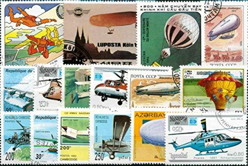 50 stks/partij17 topic stempel collectie alle verschillende vele landen GEEN herhaal postzegels ongebruikt gemarkeerd voor verzamelen, ballon luchtvaart