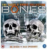 Bones Collection Seasons 1-12 [DVD PAL 日本語無し](Import)