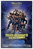 Police Academy 2 – Film Poster Plakat Drucken Bild –